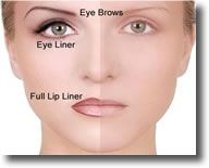 permanent makeup enhances your beauty