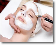luxurious skin treatments & peels